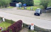 Parkplatz vor dem Haus